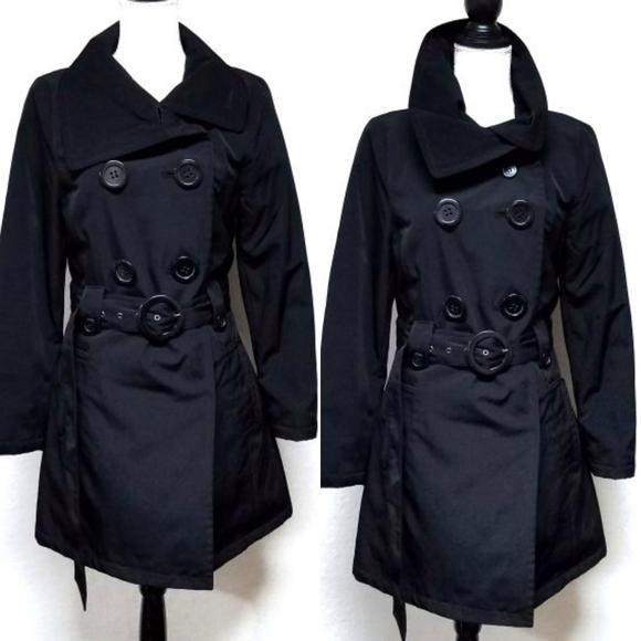 Esprit Jackets & Blazers - Vintage 90s Esprit Black  Quilted Sherpa Jacket M